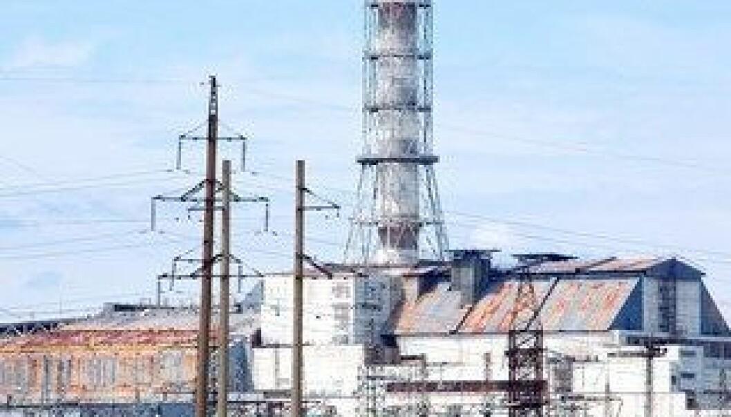 Forsegler Tsjernobyl-kraftverk med giganthall