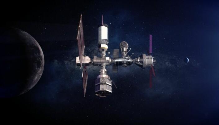 Romorganisasjoner har planer om å bygge en romstasjon som skal gå i bane rundt månen. Den kalles for Gateway.