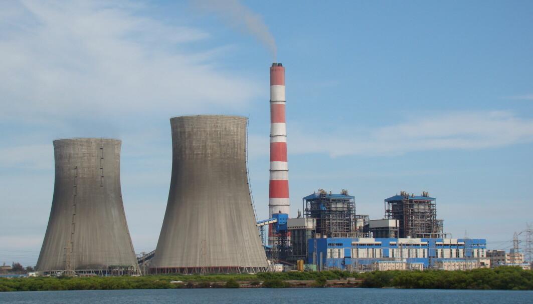 Kullkraftverk i Tuticorin, India.