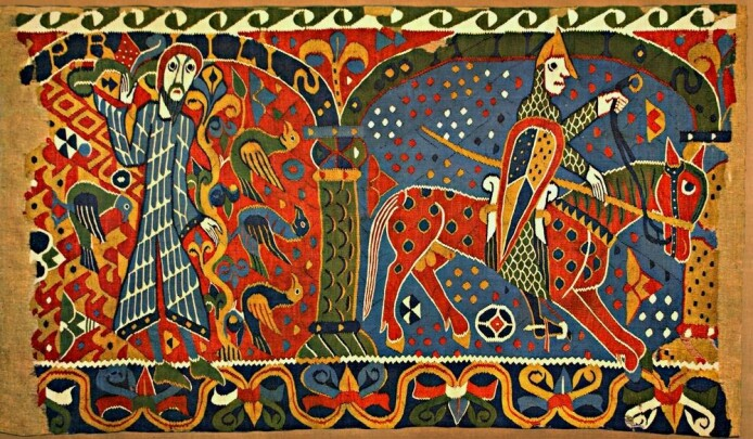 En digital kopi av Baldisholteppet fra 1100-tallet er lagret i Arctic World Archive på Svalbard.