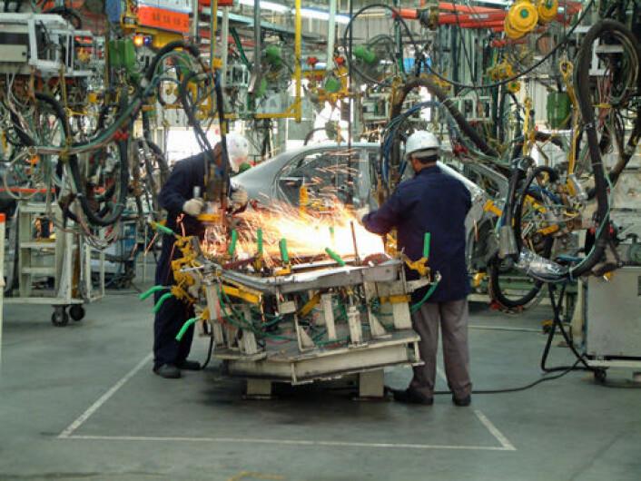 Arbeidere i bilindustrien har vært blant kjernen i den amerikanske fagbevegelsen. (Illustrasjonsfoto: iStockphoto).