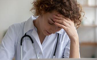 Stress hos fastlegene er firedoblet på ni år