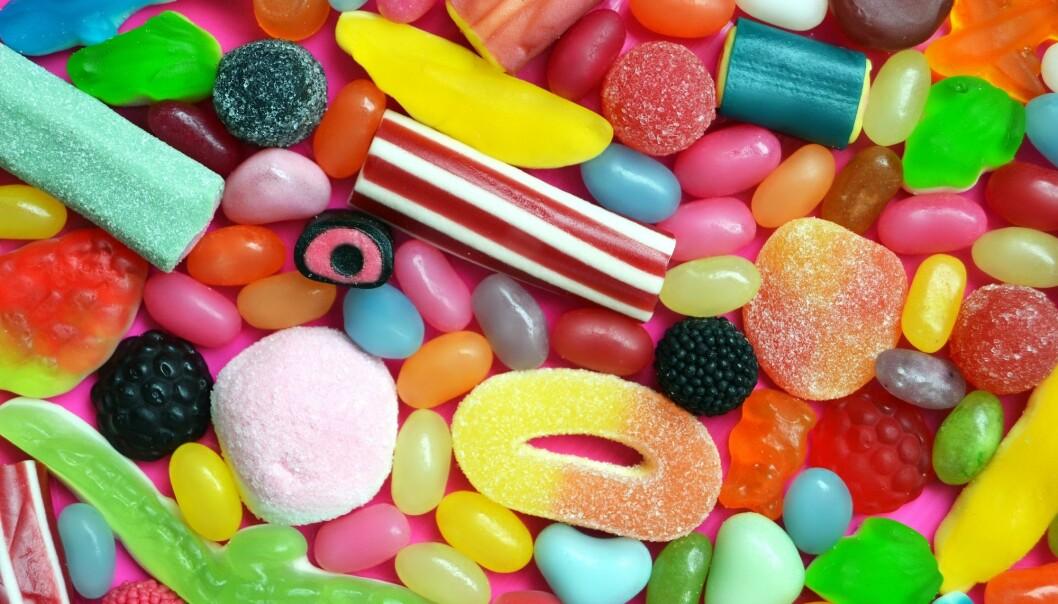 Spis heller mye godteri på én gang, enn litt nå og da.