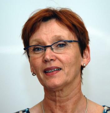 Første nestleder Anita K. Solhaug i Norsk Tjenestemannslag. (Foto: NTL)
