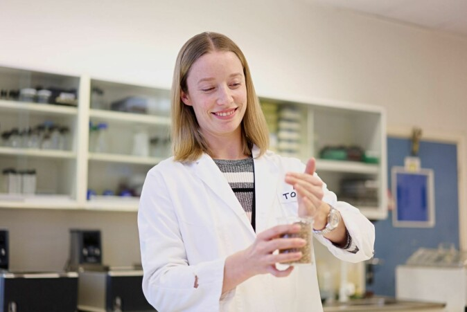 Tora Asledottir is working on her doctoral degree at the Faculty of Chemistry, Biotechnology and Food Science (KBM) at NMBU.