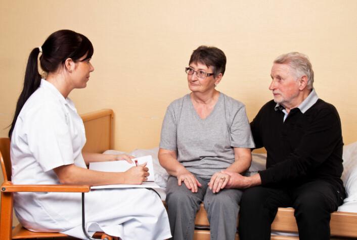 Personlige egenskaper hos legen spiller inn, men alle kan lære å bli mer empatiske, mener Markestad.(Foto: Colourbox)