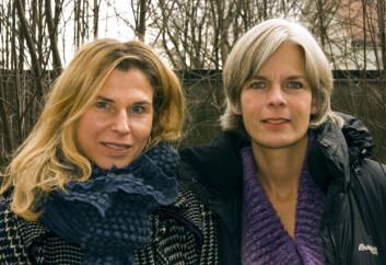 Hilde Bondevik (t.v.) og Anne Kveim Lie. (Foto: KILDEN/Sandnes)