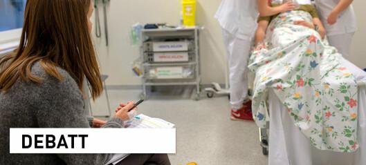 Vi får bedre helsepersonell ved å forske på undervisning i helsefag