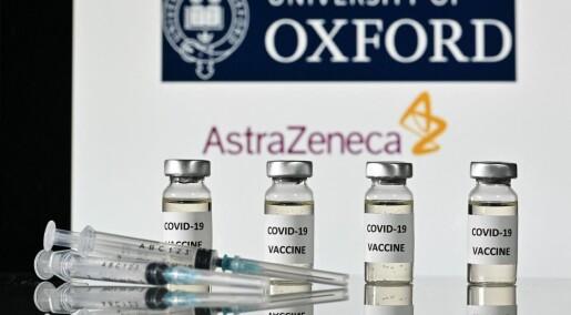 Folk som tok AstraZeneca-vaksinen rapporterte om milde blødninger betydelig oftere enn de som fikk en mRNA-vaksine