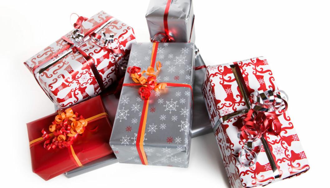 Samfunnet taper på julegavene