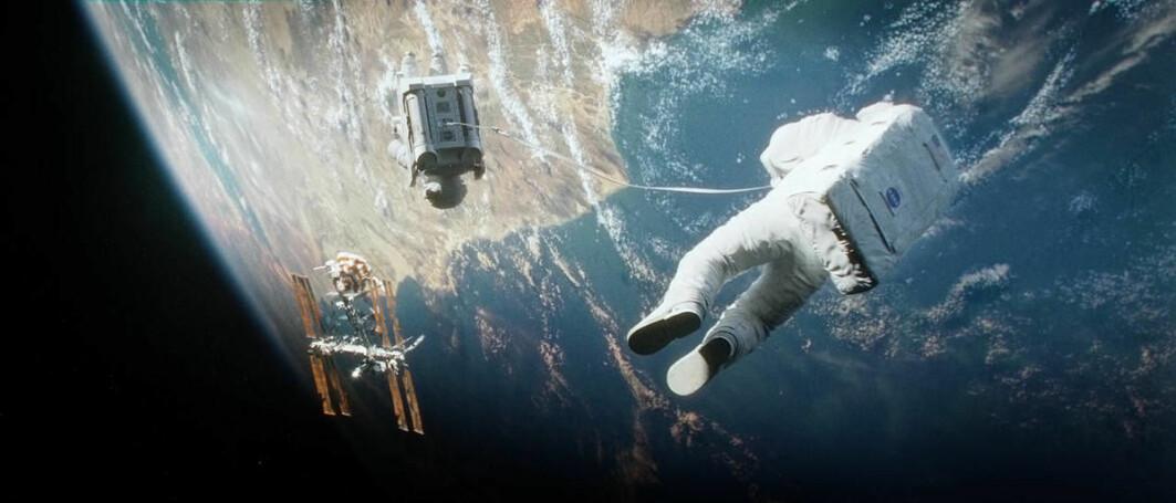 Mye av teknologien som ble brukt i filmen Gravity var kjent, men det er ikke mulig å flytte seg mellom jordbaner på den måten som astronautene gjør i filmen.
