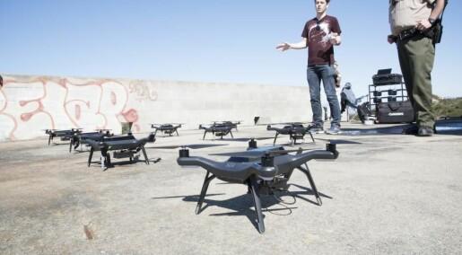 Droner som snakker sammen, kan finne savnede i rekordfart
