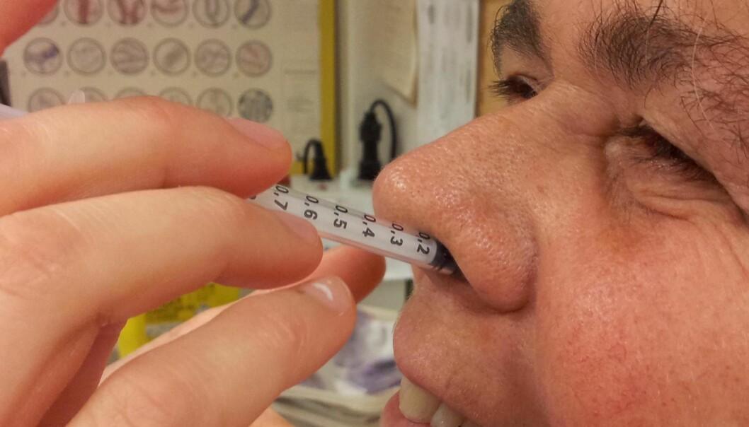 Tester nesevaksine mot HIV