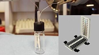 Eit forskingsfelt blir til: Forskarane må laga utstyret sjølve