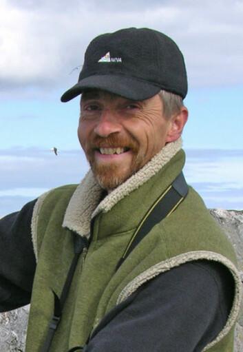 Seniorforsker Tycho Anker-Nilssen ved NINA. (Foto: Tomas Aarvak)
