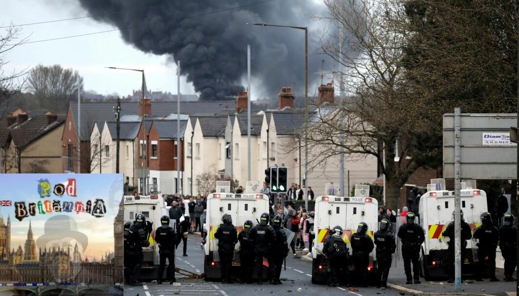 Hva er det egentlig som ligger bak de voldelige opptøyene vi har sett i deler av Belfast og Derry? Og bryr Boris Johnson og London seg egentlig om hva som skjer?