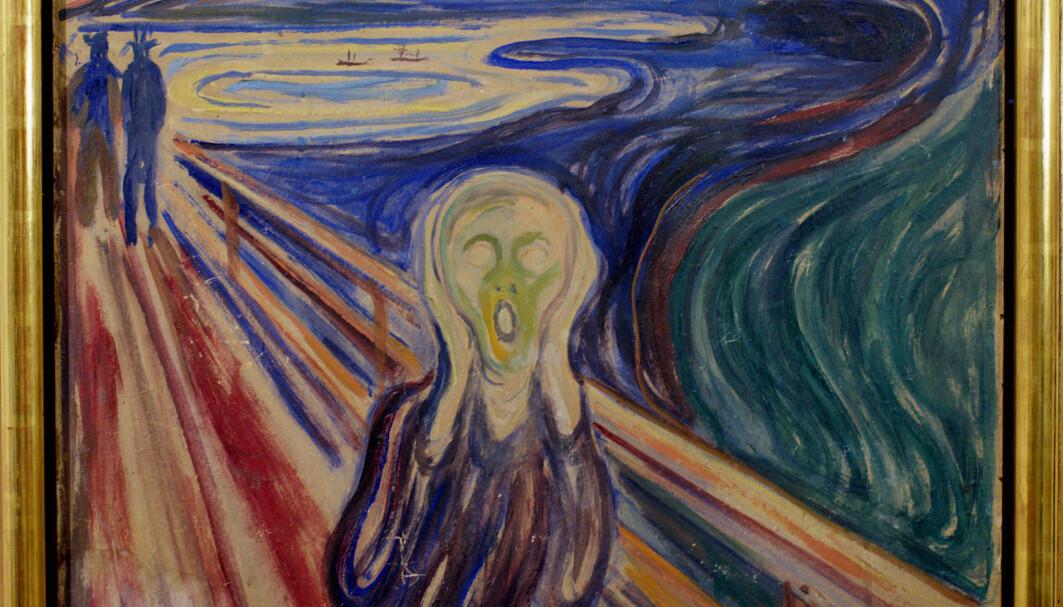 Det er nok ikke rart Edvard Munch valgte å male nettopp et «Skrik» for å utrykke vanskelige følelser.