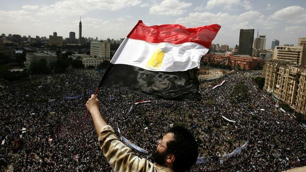 Våren 2011 samlet titusenvis av egyptere seg på Tahrirplassen i Kairo for å demonstrere mot Hosni Mobaraks styre.