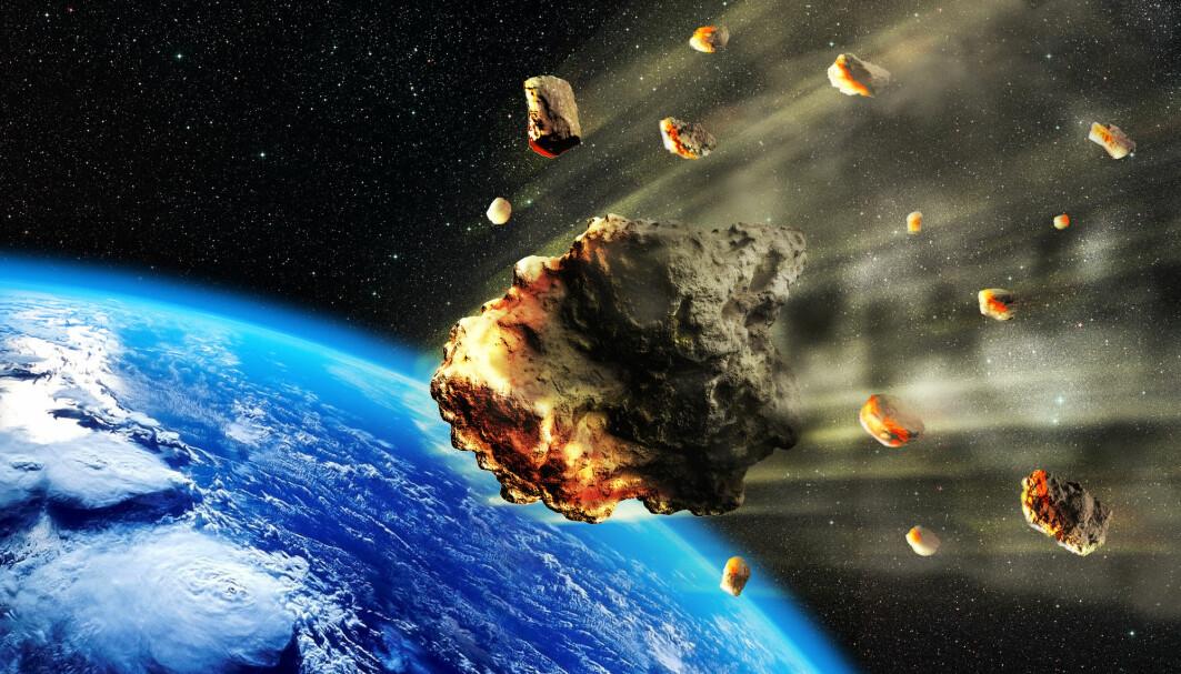 Mikrometeoritter faller ned på jorda hele tiden. Meteoritt-støvet består at bittesmå partikler - men til sammen veier de en hel del, har forskere regnet ut.