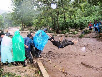 """""""Flom- og jordskred San Juan La Laguna Nicaragua, 8. oktober 2005"""""""
