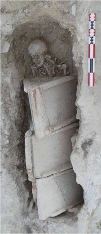 Kvinnen ble funnet ved et gravsted nær Lleida i Spania. (Foto: International Journal of Paleopathology)