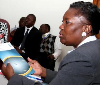 Rebecca Kadaga, speaker of parliament, er en av nøkkelpersonene i det kvinnepolitiske arbeidet i Ugandas parlament. (Foto: Stephen Wandera/UNDP)