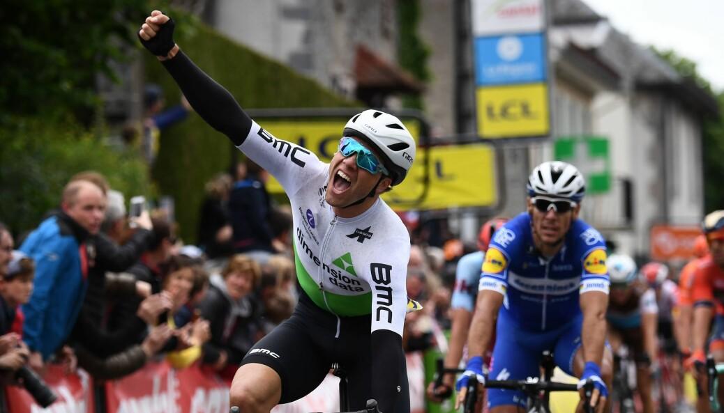 De som trente sprinter på langturer, ble bedre på å sprinte og til å holde ut harde rykk. Her Edvald Boasson Hagen etter en seier i sykkelrittet Critérium du Dauphiné i 2019.