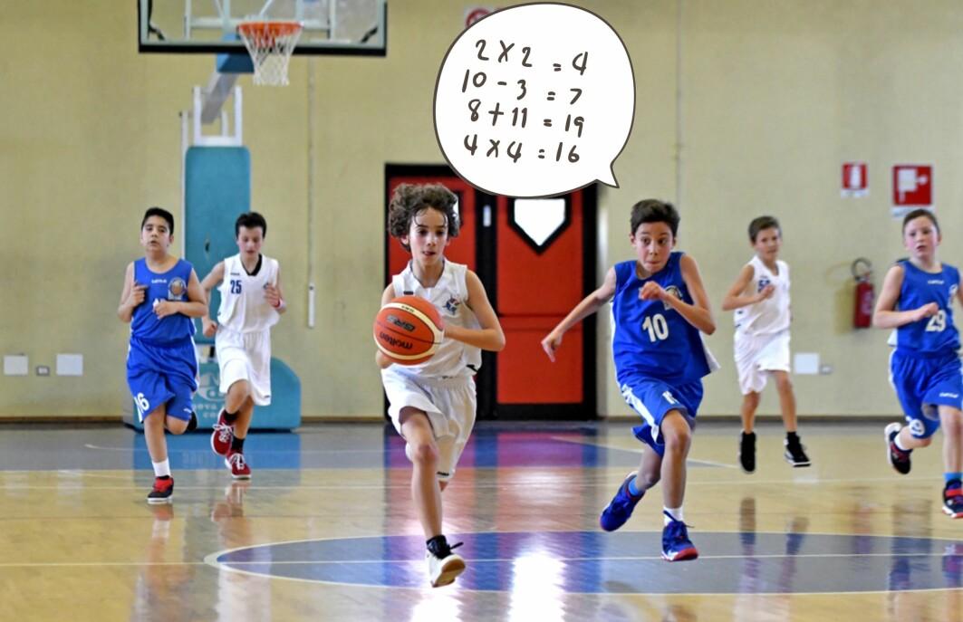 En dansk studie med 757 barn fra 1. til 5. klasse viser at en blanding av matematikk og basketball gir elevene mer lyst til å lære.