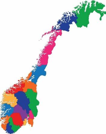 (Foto: (Kart: www.colourbox.no))