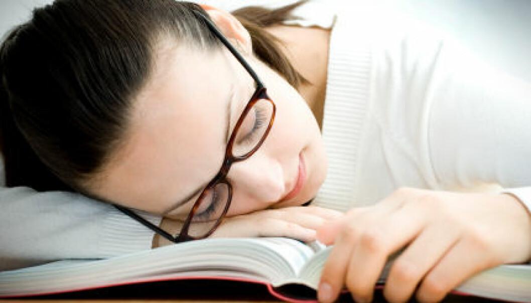 """""""kronisk utmattelsessyndrom rammer ofte unge mennesker, og det er foreløpig svært få behandlingsmetoder med effekt. (Illustrasjonsfoto: iStockphoto)"""""""