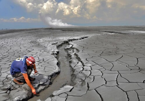 The Indonesian Lusi eruption – a significant source of greenhouse gases