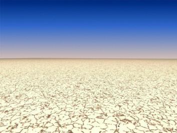 Den globale oppvarmingen kan etterlate en verden uten mulighet for liv. Det er i dag en av de vanligste forestillingene om jordens undergang. (Foto: Colourbox)