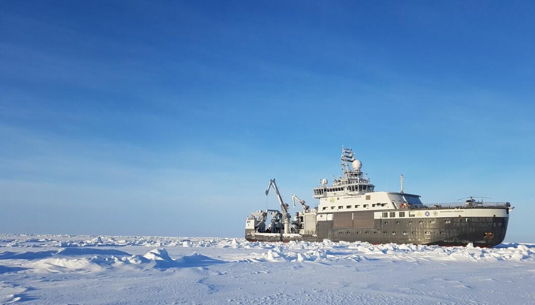 Forskningsfartøyet «Kronprins Haakon», et spektakulært skip som gjorde det utilgjengelige Arktis litt mer tilgjengelig for oss forskere.