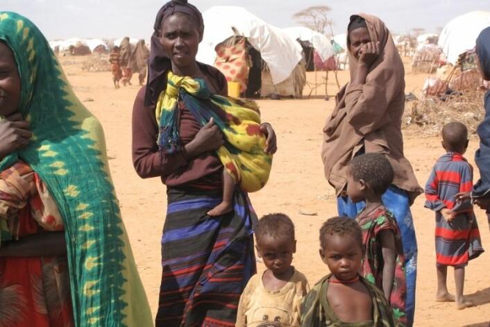 Somalia er ett av landene som vil bli hardest rammet av klimaendringene. 90 prosent av de som kommer til å dø som følge av klimaendringene bor nemlig i u-land, konkluderer ny rapport. (Foto: iStockphoto)