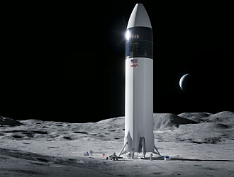 SpaceX har fått jobben med å sette folk på månen