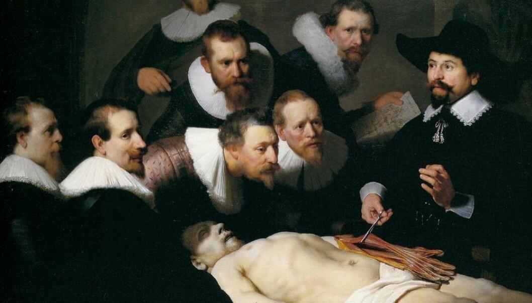 Mysteriet med Rembrandt og vår eigen underarm