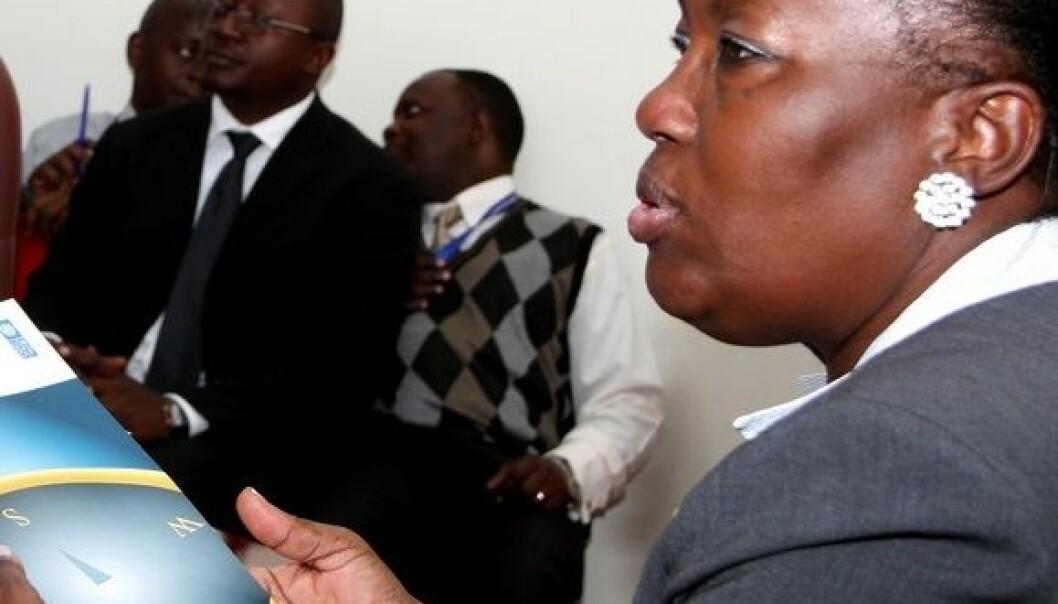Rebecca Kadaga, speaker of parliament, er en av nøkkelpersonene i det kvinnepolitiske arbeidet i Ugandas parlament. Stephen Wandera/UNDP