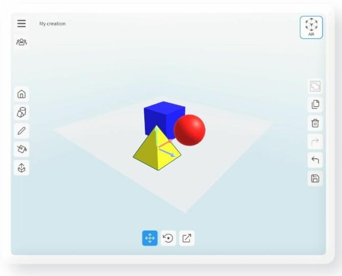 Med utgangspunkt i disse enkle formene er det bare fantasien som setter grenser for hva elevene kan skape.