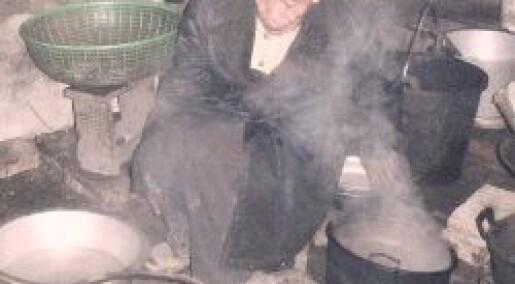 Dødelig inneklima i Kina