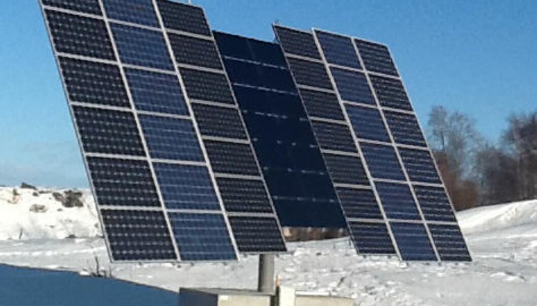 Solcelleparken i Piteå ligger i ett av de mest solrike områdene i Sverige, langs Bottniska viken. Anlegge driftes av PiteEnergi, i samarbeid med det nordnorske forskningsinstituttet NORUT. Resultatene viser at anlegget kan konkurrere med tilsvarende anlegg i Tyskland, der det satses stort på solenergi. PiteEnergi