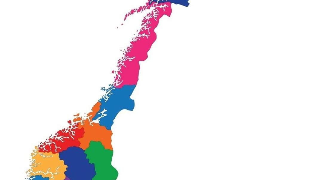 (Kart: www.colourbox.no)