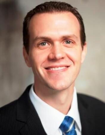 Postdoktor Tyler Hull ved Institutt for finans, NHH. Foto: (Foto: NHH)