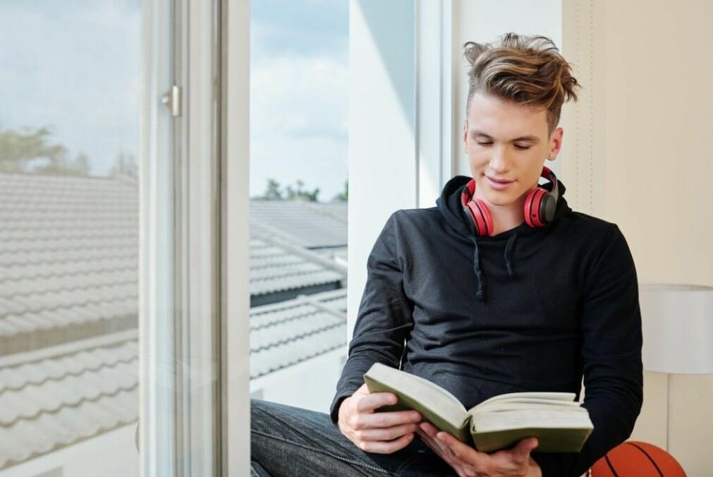 Ungdom bruker mindre tid på boklesing enn før.