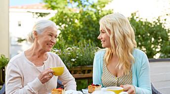 Eldre fikk mer matlyst når de spiste sammen med andre