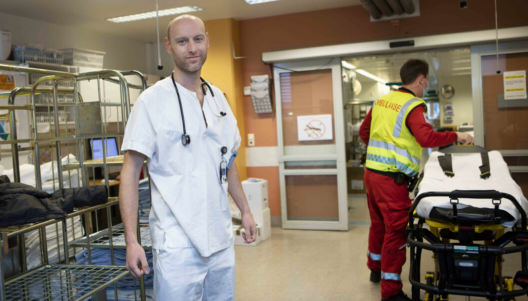 – Høyt blodtrykk er den viktigste risikofaktoren for hjerneslag, sier lege og forsker Erik Prestgaard.