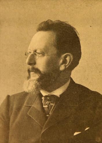 Professor Henrik Mohn, Norges første meteorolog og bestyrer av Meteorologisk institutt fra 1866. (Foto: Via Yngve Nilsen)