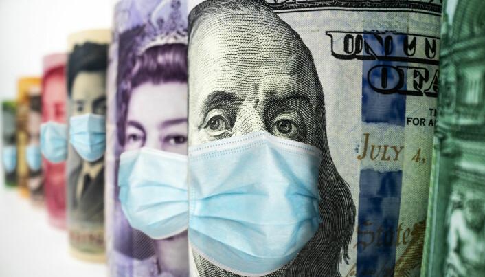 USA og Japan later til å komme klart bedre gjennom pandemien økonomisk enn Storbritannia og Spania.