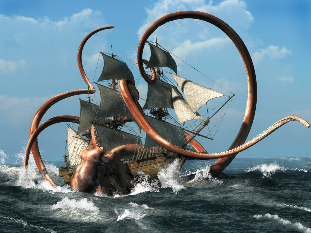 The Kraken was initially a