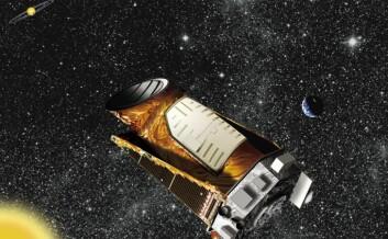 Illustrasjon av Kepler-satelitten. (Foto: (Illustrasjon: NASA/Ames/JPL-Caltech))
