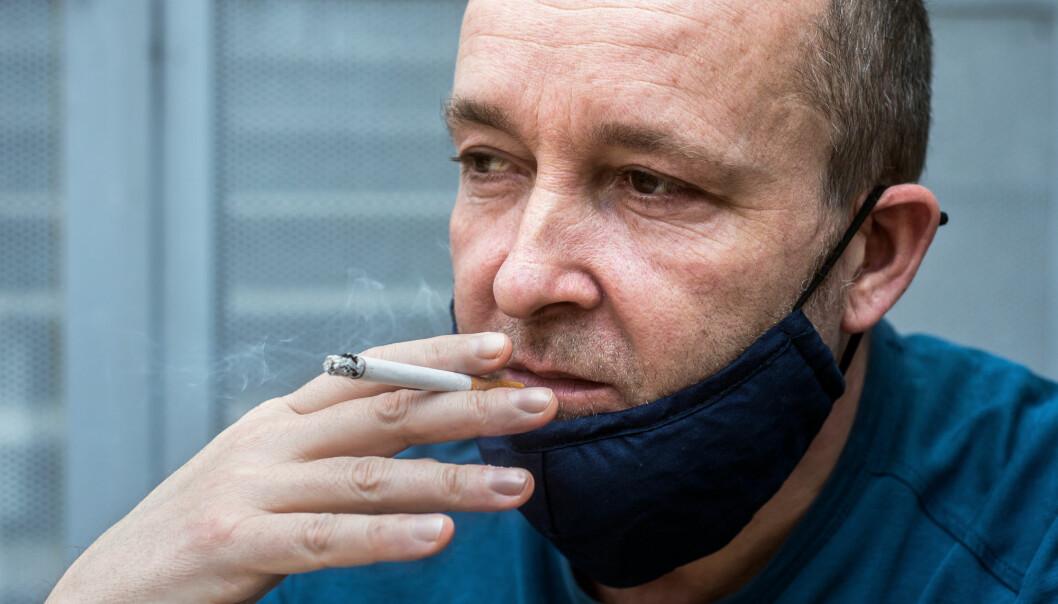 Om det er en reell kobling mellom røyking og lavere risiko for covid-19-smitte, er fremdeles ikke kjent.